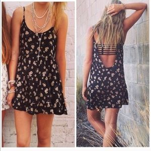 Brandy Melville Dress Floral One Size Fits All